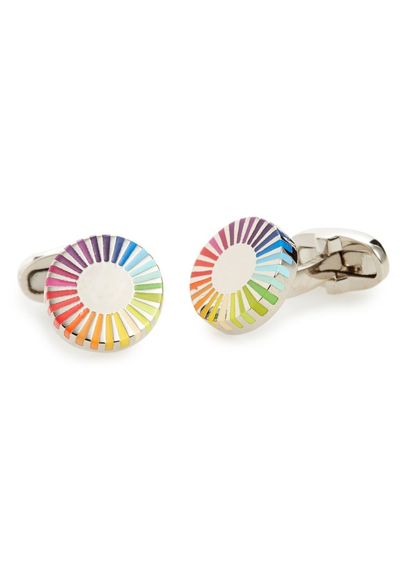 Paul Smith 'Ray' Multistripe Cuff Links