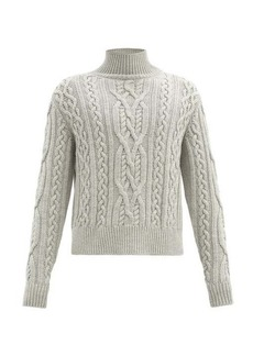 Paul Smith Roll-neck cable-knit wool sweater