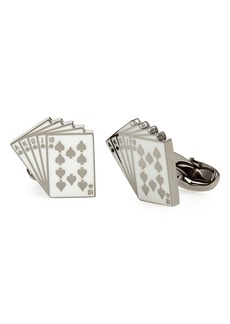 Paul Smith Royal Flush Cards Cuff Links