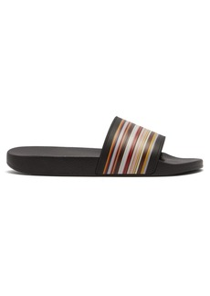 Paul Smith Rubber striped slides
