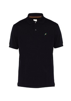 Paul Smith Saturn-embroidered cotton polo shirt