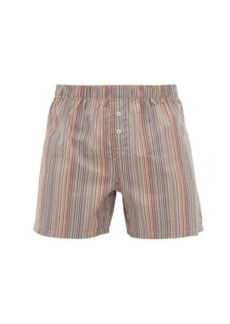 Paul Smith Signature stripe cotton boxer shorts
