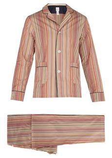 Paul Smith Signature Stripe cotton pyjama set