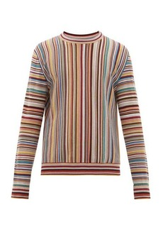 Paul Smith Signature Stripe jacquard wool sweater