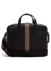 Paul Smith Signature stripe leather briefcase