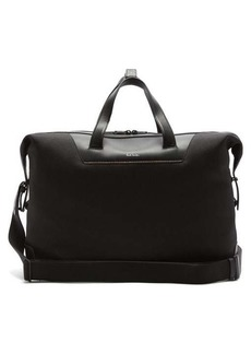 Paul Smith Signature-stripe recycled-canvas holdall