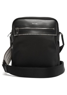 Paul Smith Signature stripe-trimmed cross-body bag