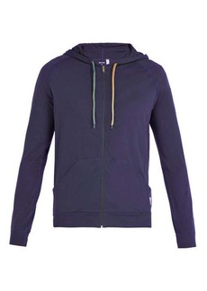 Paul Smith Signature stripe zip-through hooded sweatshirt