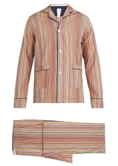 Paul Smith Signature striped cotton pyjama set