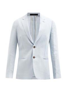 Paul Smith Single-breasted linen blazer