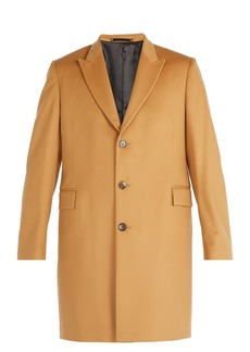 Paul Smith Single-breasted wool and cashmere overcoat