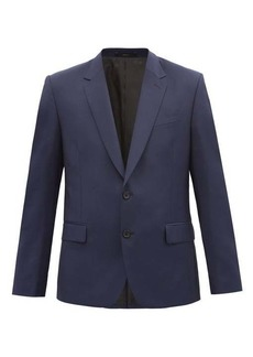 Paul Smith Single-breasted wool-blend suit jacket