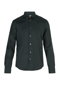 Paul Smith Single-cuff stretch-cotton shirt