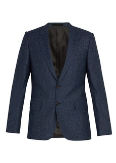 Paul Smith Slim-fit mélange wool and silk blend jacket