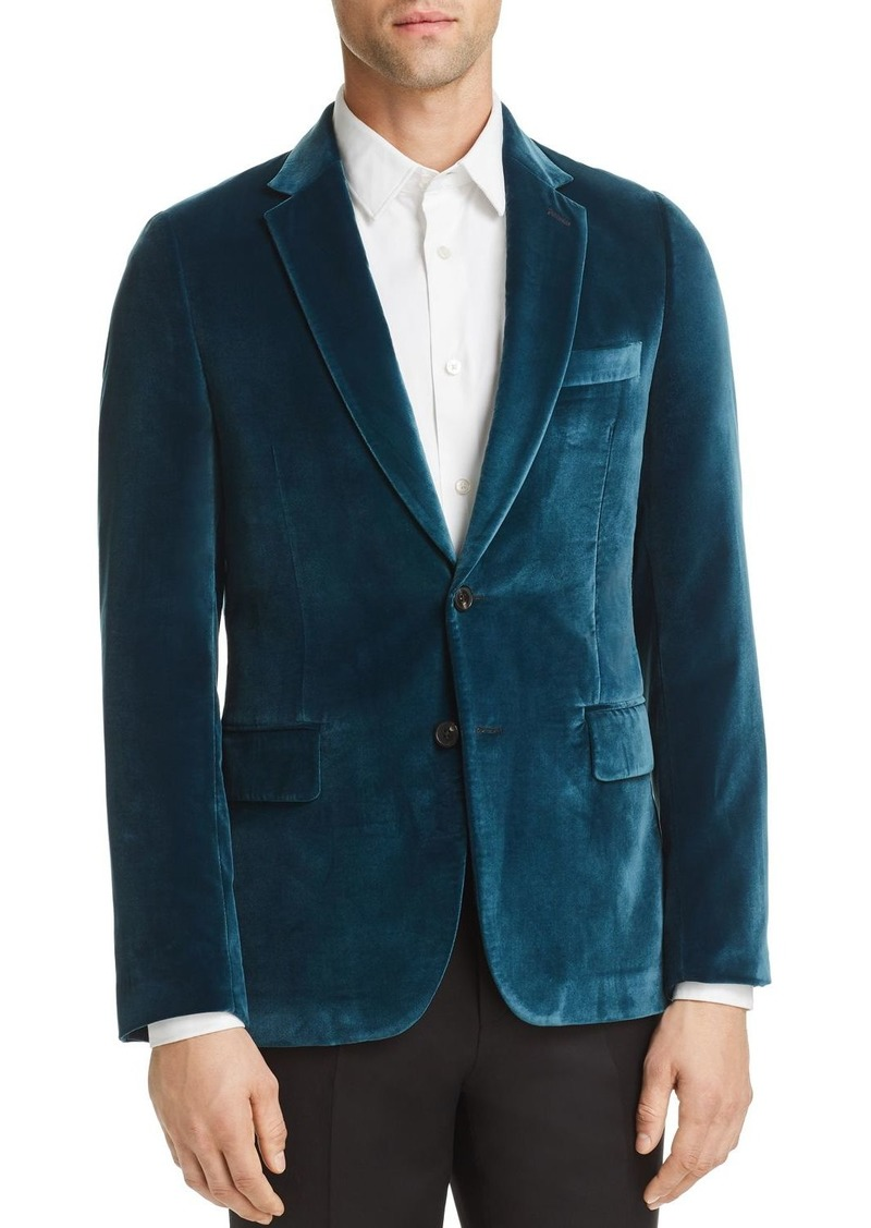 Paul Smith Slim Fit Velvet Sportcoat