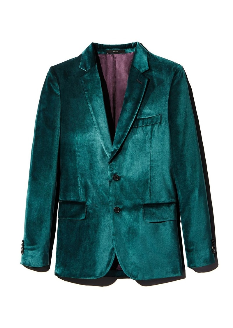 Paul Smith Soho Velvet Extra Slim Fit Jacket