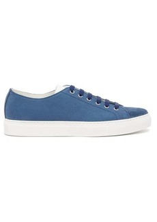 Paul Smith Sotto suede-trimmed canvas trainers