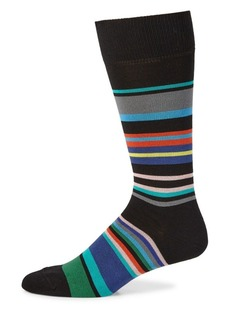 Paul Smith Spag Multicolor Stripe Knitted Socks