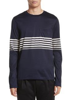 Paul Smith Stripe Long Sleeve T-Shirt