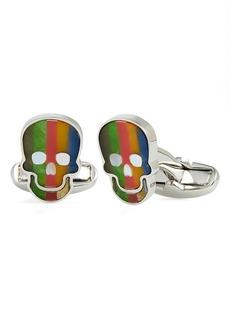 Paul Smith Stripe Skull Cuff Links