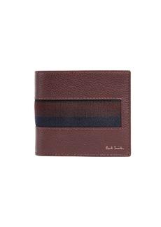Paul Smith Stripe Webbing Billfold Wallet