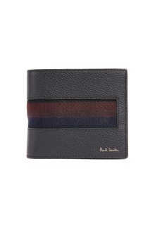 Paul Smith Stripe Webbing Billfold Wallet