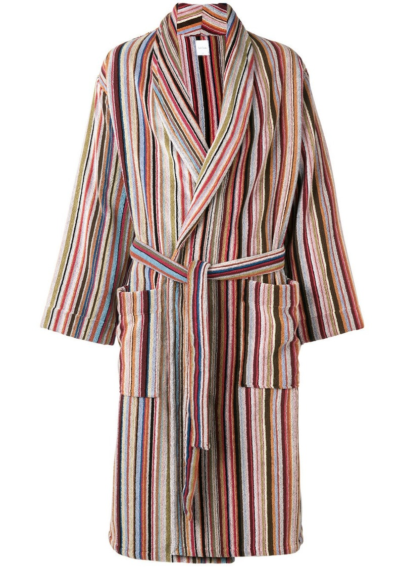Paul Smith striped bathrobe
