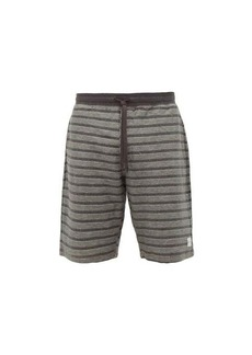 Paul Smith Striped cotton-jersey track shorts
