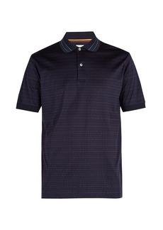 Paul Smith Striped cotton polo shirt