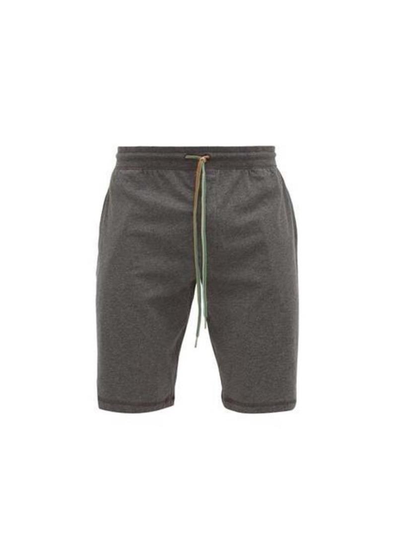 Paul Smith Striped-drawstring cotton-jersey pyjama shorts