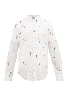 Paul Smith Tailoring-print cotton shirt
