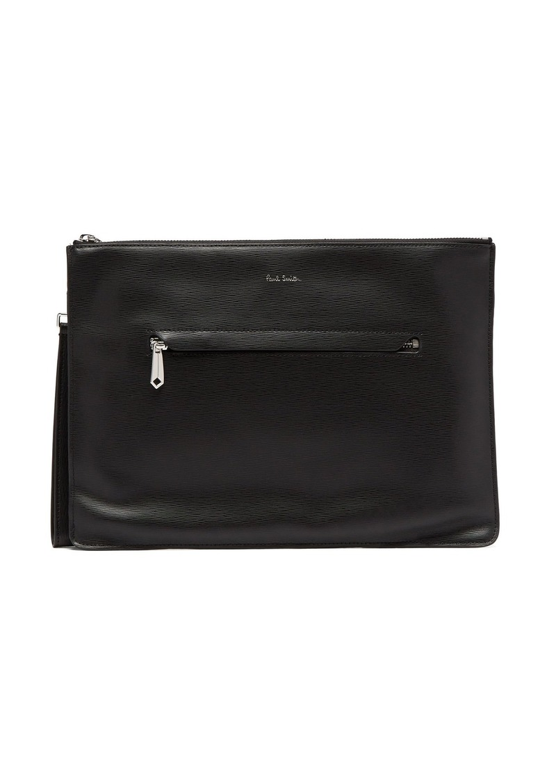 Paul Smith Textured-leather document case