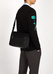 Paul Smith Textured leather messenger bag