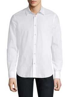 Paul Smith Tonal Jacquard Shirt