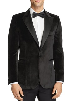 Paul Smith Velvet Satin Peak Slim Fit Tuxedo Jacket