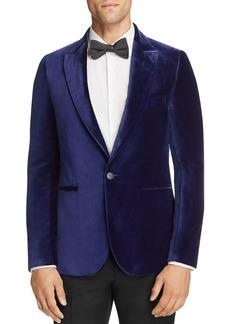 Paul Smith Velvet Slim Fit Evening Jacket