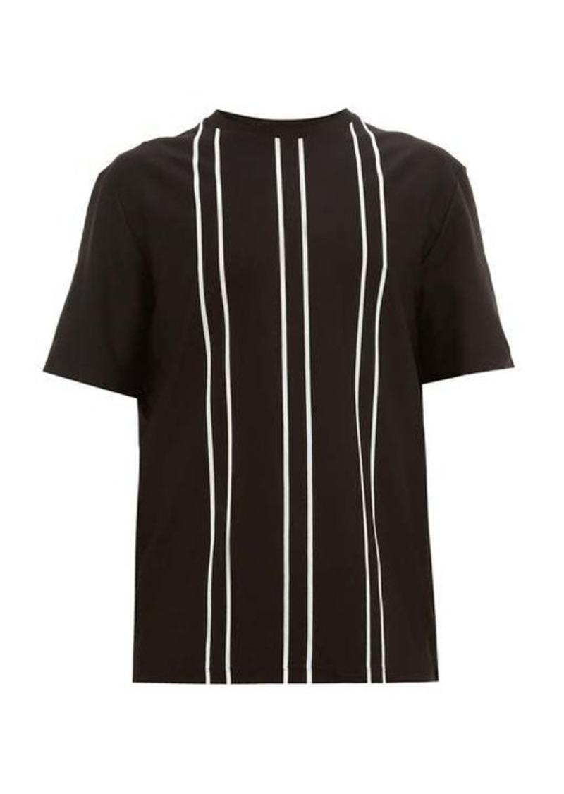 Paul Smith Vertical-stripe cotton T-shirt