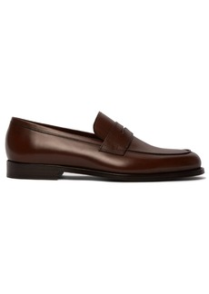 Paul Smith Wolf leather loafers