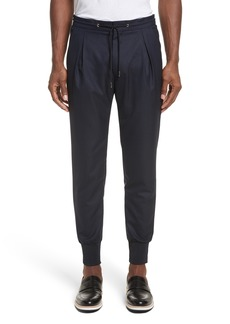 Paul Smith Wool & Silk Jogger Pants
