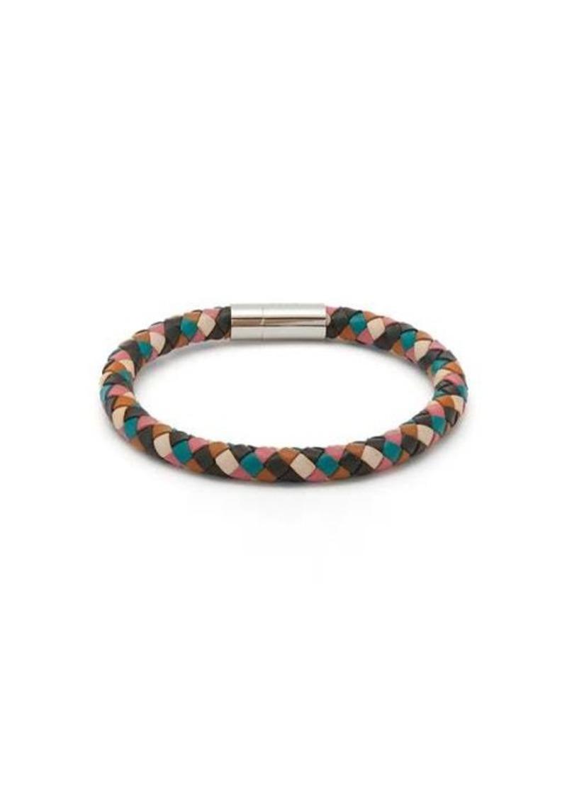 Paul Smith Woven leather bracelet