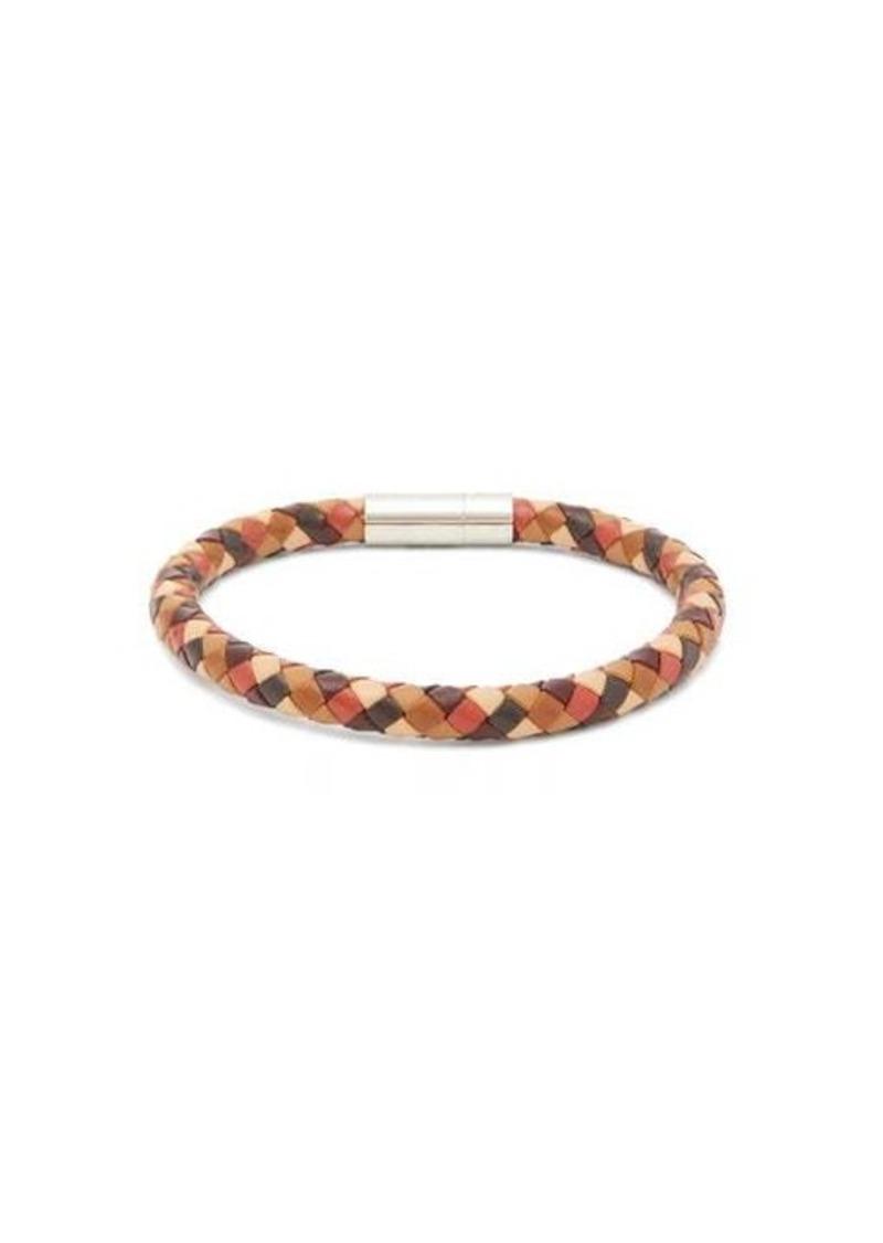Paul Smith Woven-leather bracelet