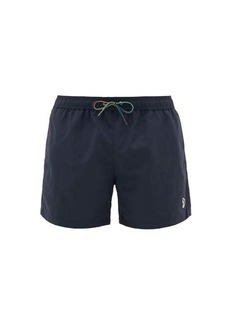 Paul Smith Zebra-embroidered swim shorts