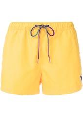 Paul Smith Zebra logo swim shorts - Yellow & Orange