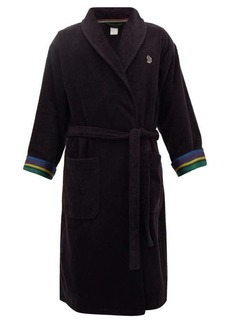 Paul Smith Zebra terry-cloth cotton towel robe