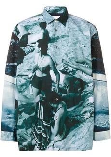 Paul Smith Paul's Photo print shirt