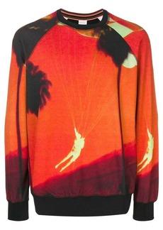 Paul Smith Paul's photo print sweatshirt