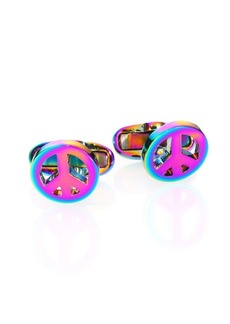 Paul Smith Peace Sign Cuff Links