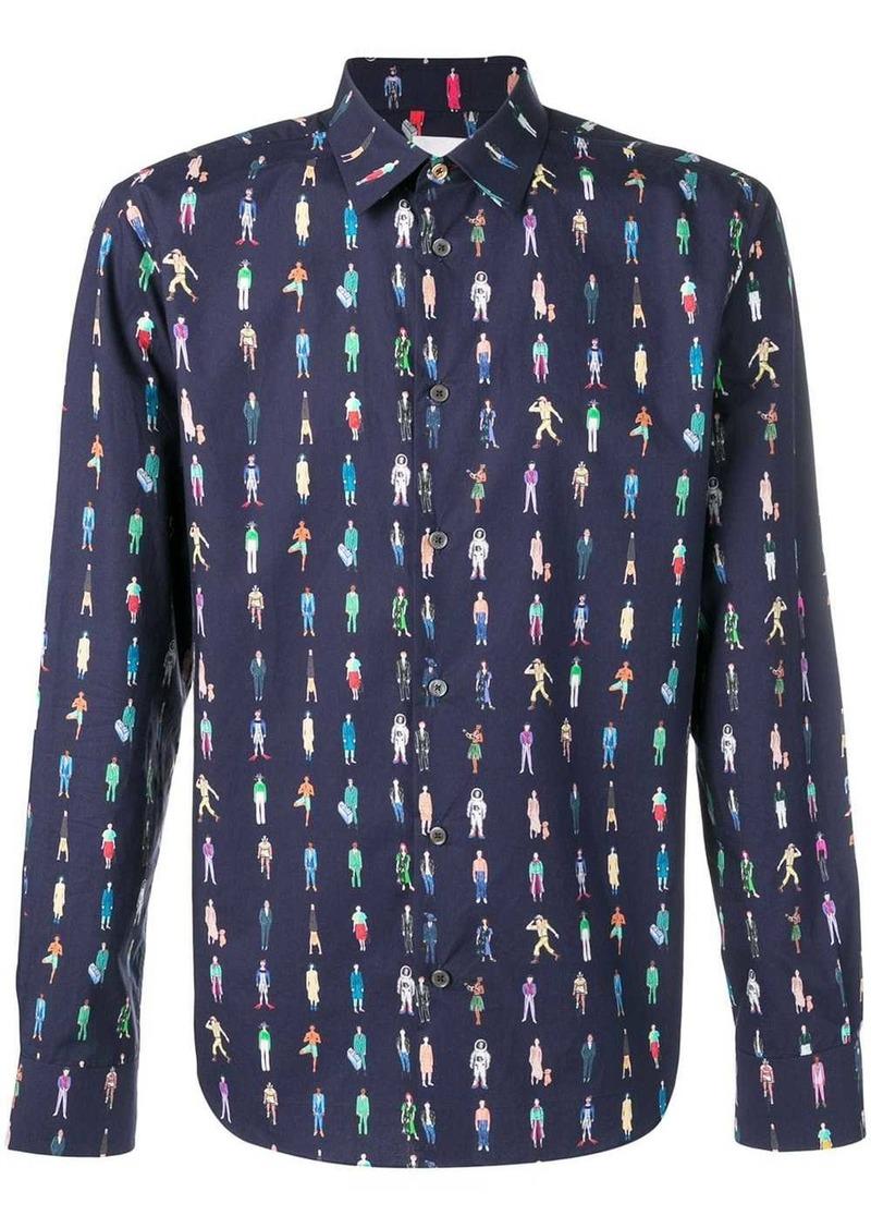 Paul Smith People print shirt