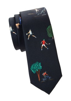 Paul Smith People Silk Tie