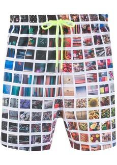 Paul Smith photographic print swim shorts